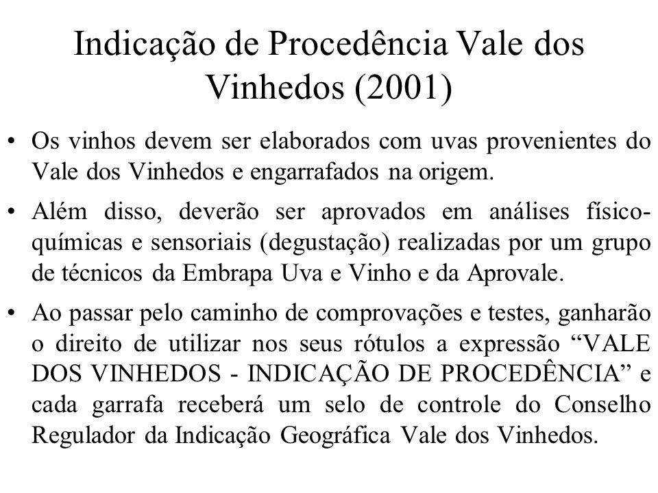 Indicação de Procedência Vale dos Vinhedos (2001)