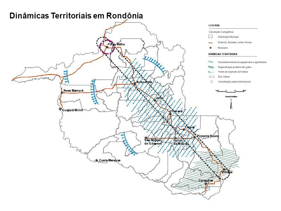 Dinâmicas Territoriais em Rondônia