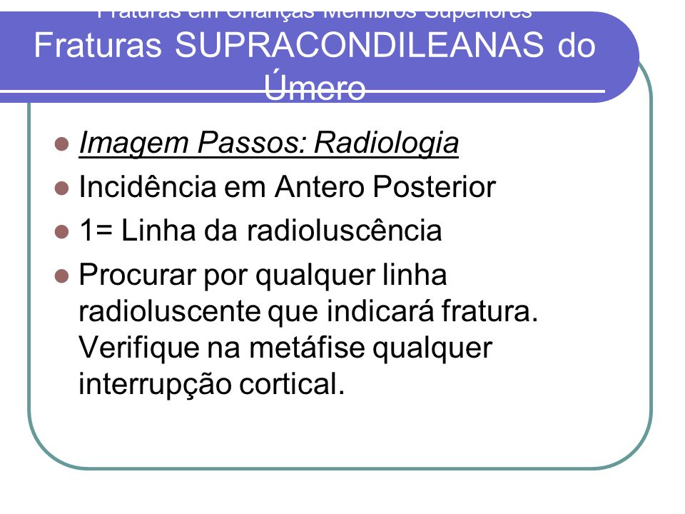 Imagem Passos: Radiologia Incidência em Antero Posterior