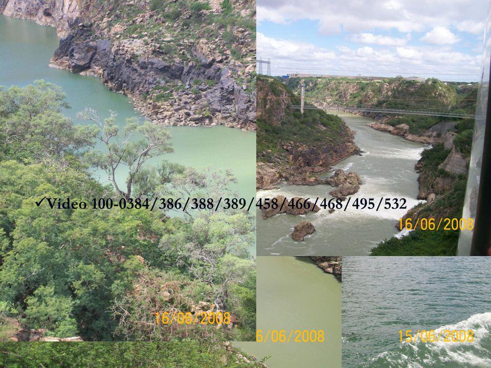 Presença das principais hidroelétricas do Nordeste.