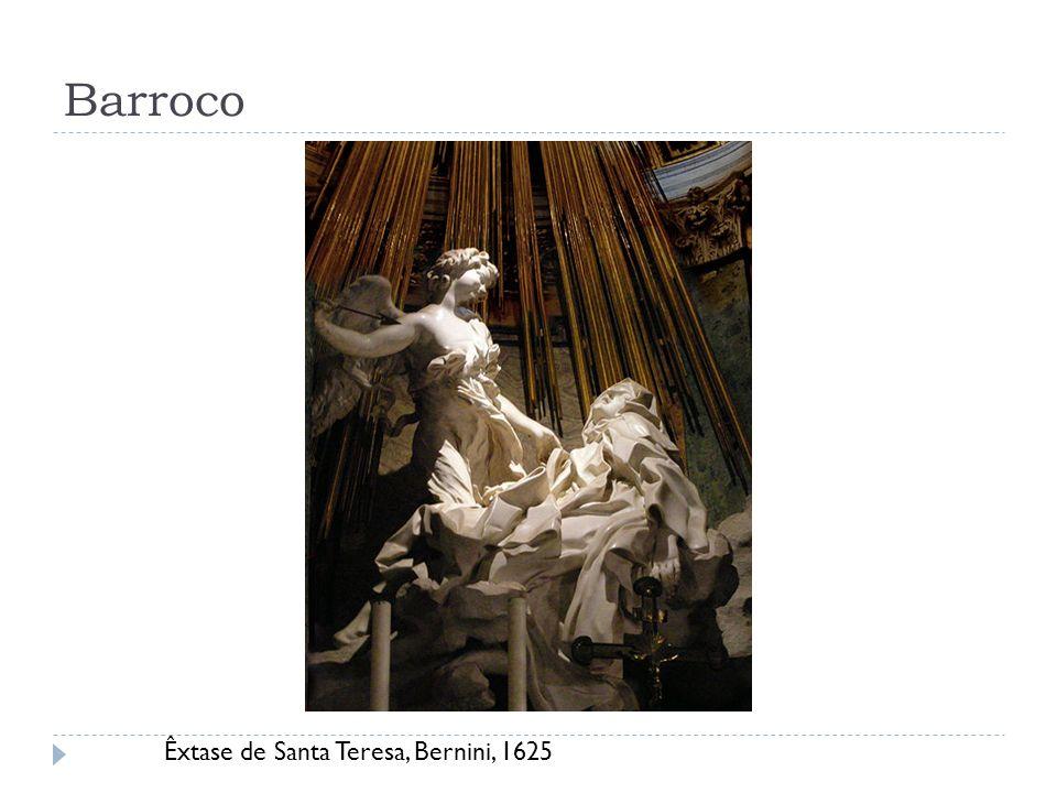 Barroco Êxtase de Santa Teresa, Bernini, 1625
