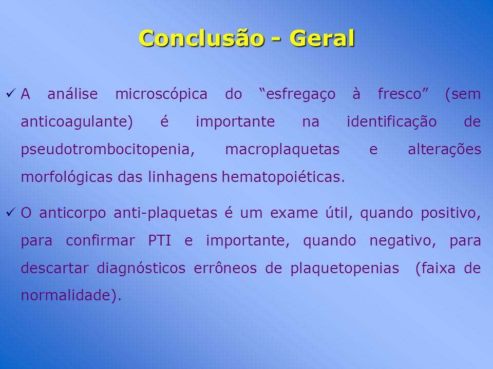 Conclusão - Geral