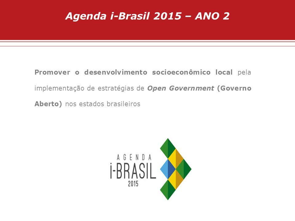 Agenda i-Brasil 2015 – ANO 2