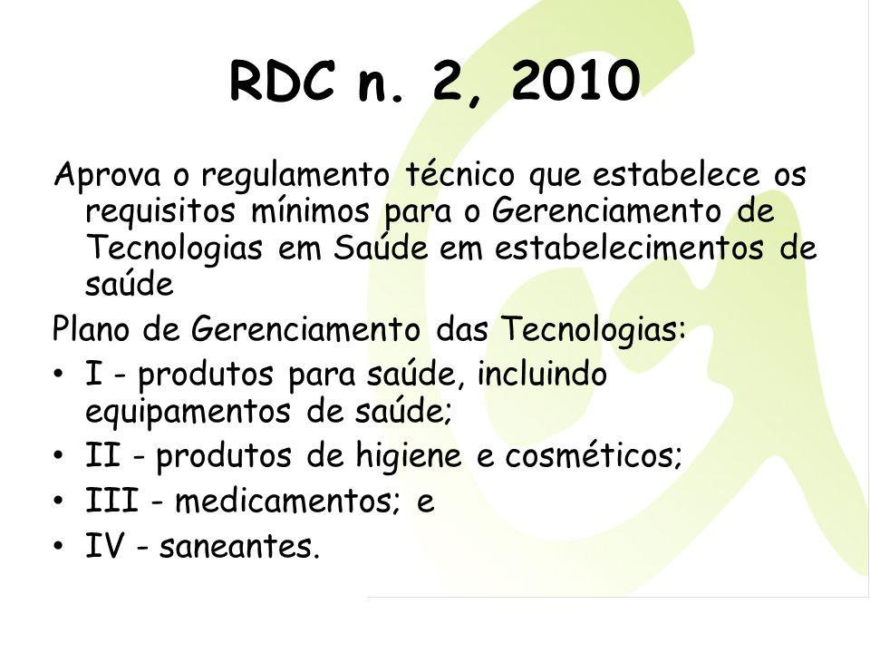 RDC n. 2, 2010