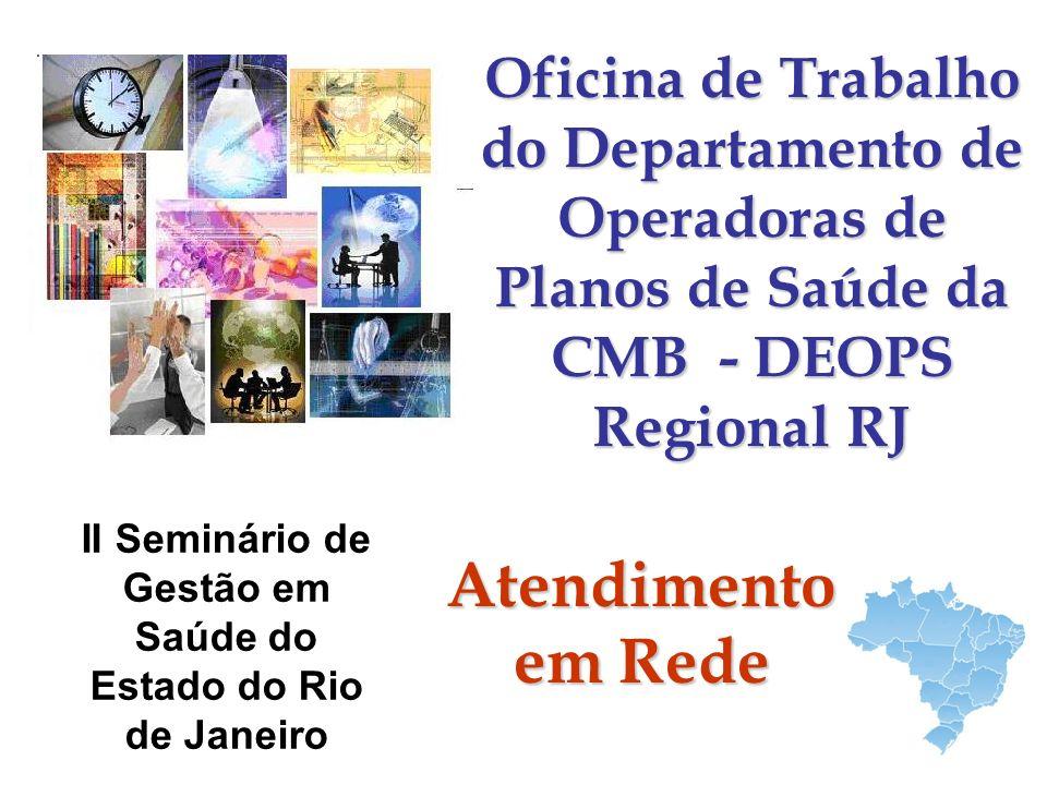 II Seminário de Gestão em Saúde do Estado do Rio de Janeiro