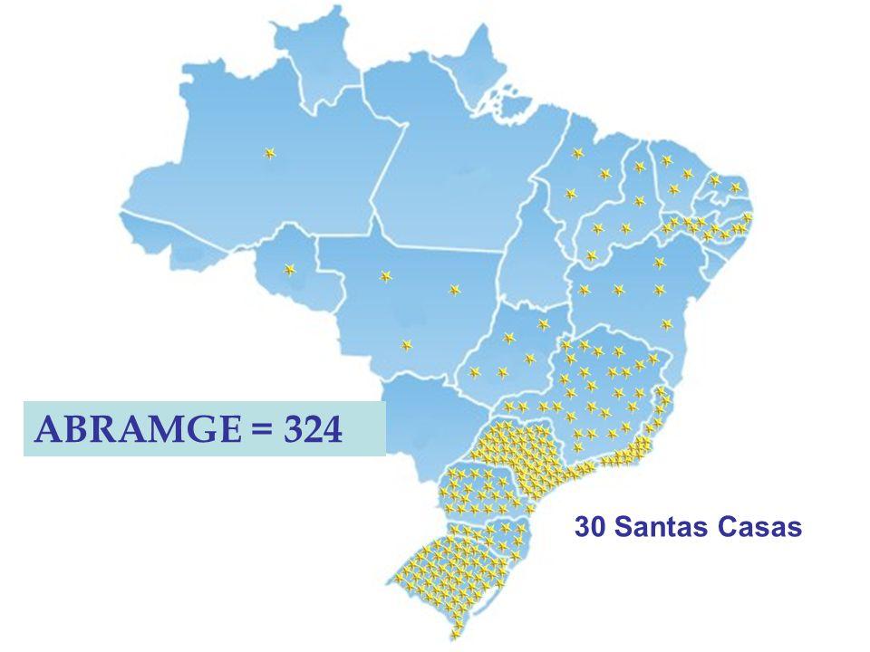 ABRAMGE = 324 30 Santas Casas