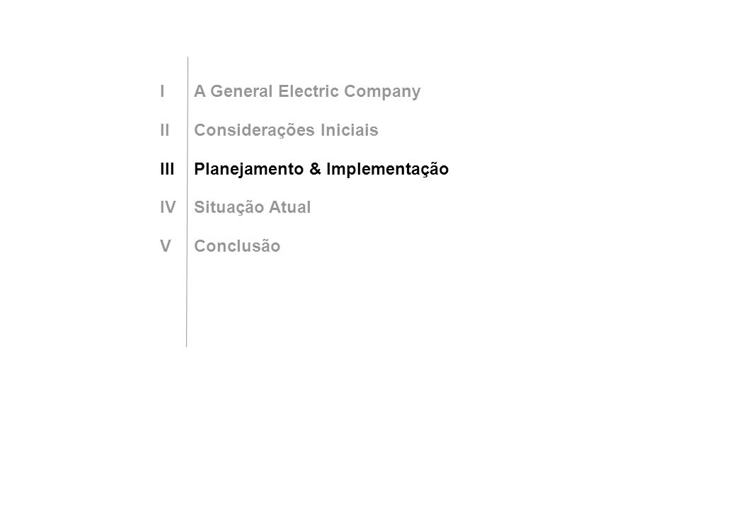 I A General Electric Company