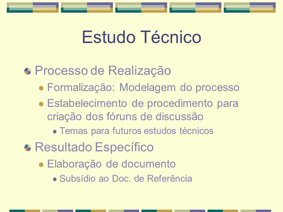 Estudo Técnico Processo de Realização Resultado Específico
