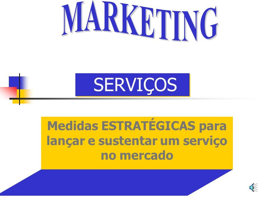 Medidas ESTRATÉGICAS para lançar e sustentar um serviço no mercado