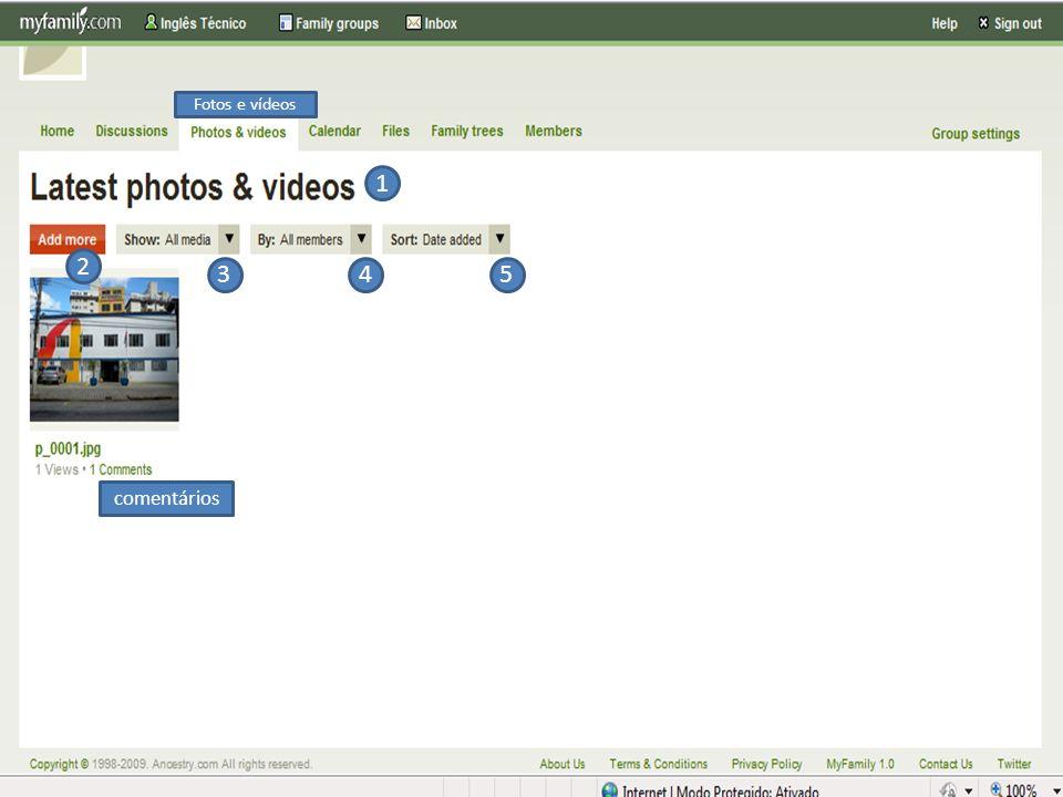 Fotos e vídeos 1 2 3 4 5 comentários