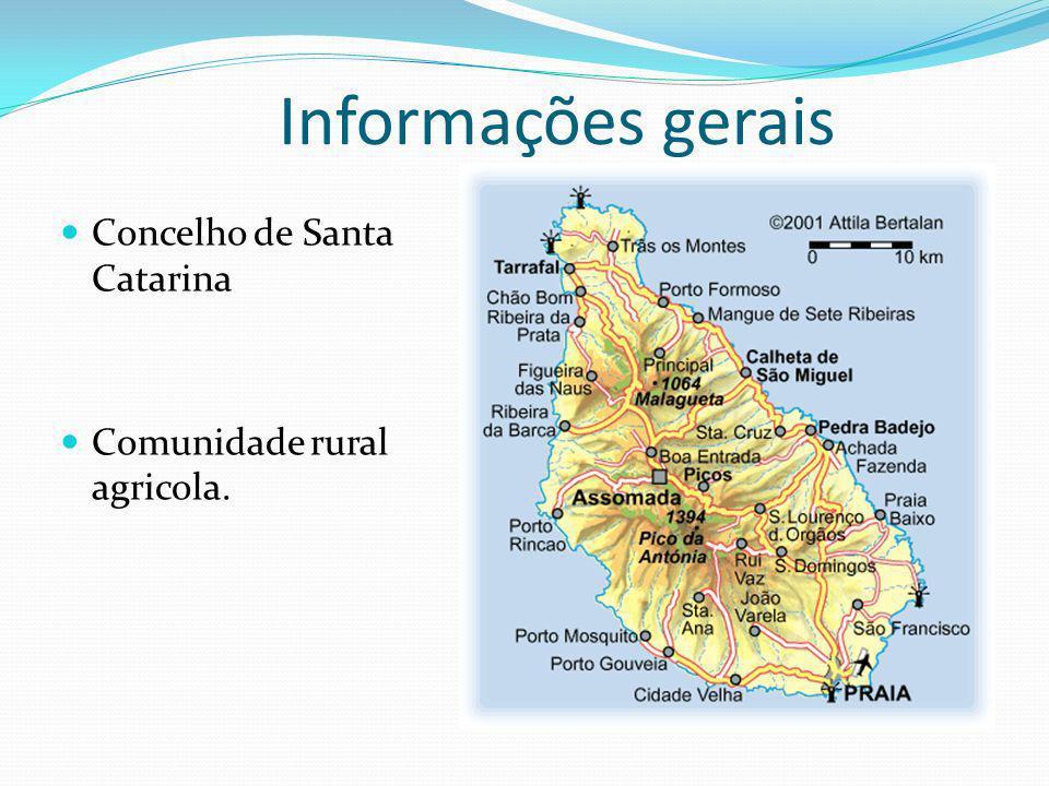Informações gerais Concelho de Santa Catarina