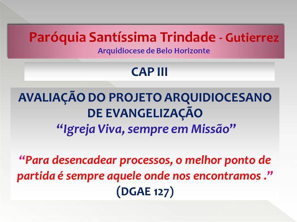 Paróquia Santíssima Trindade - Gutierrez Arquidiocese de Belo Horizonte