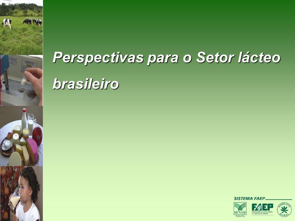 Perspectivas para o Setor lácteo brasileiro