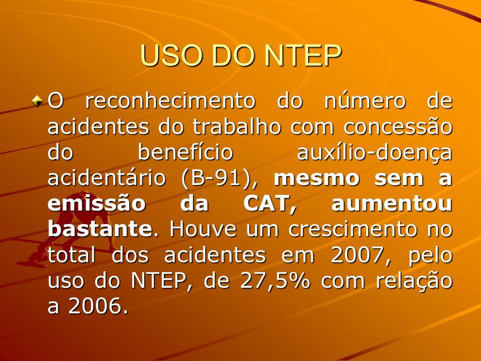 USO DO NTEP