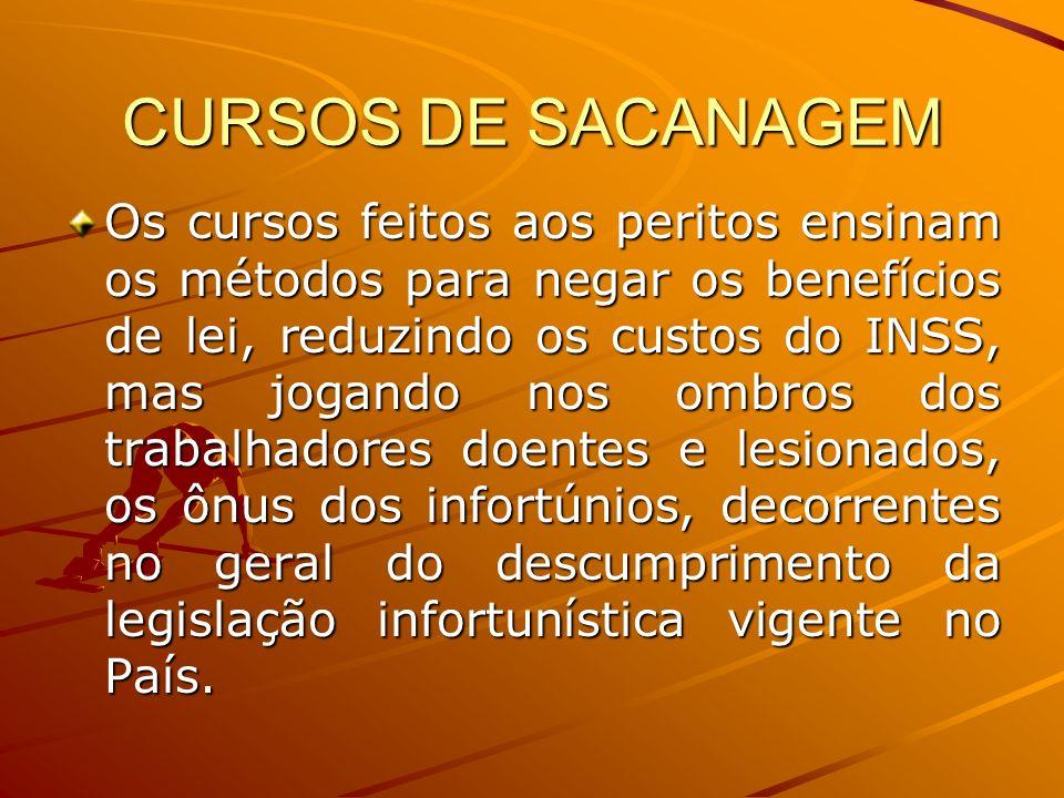 CURSOS DE SACANAGEM