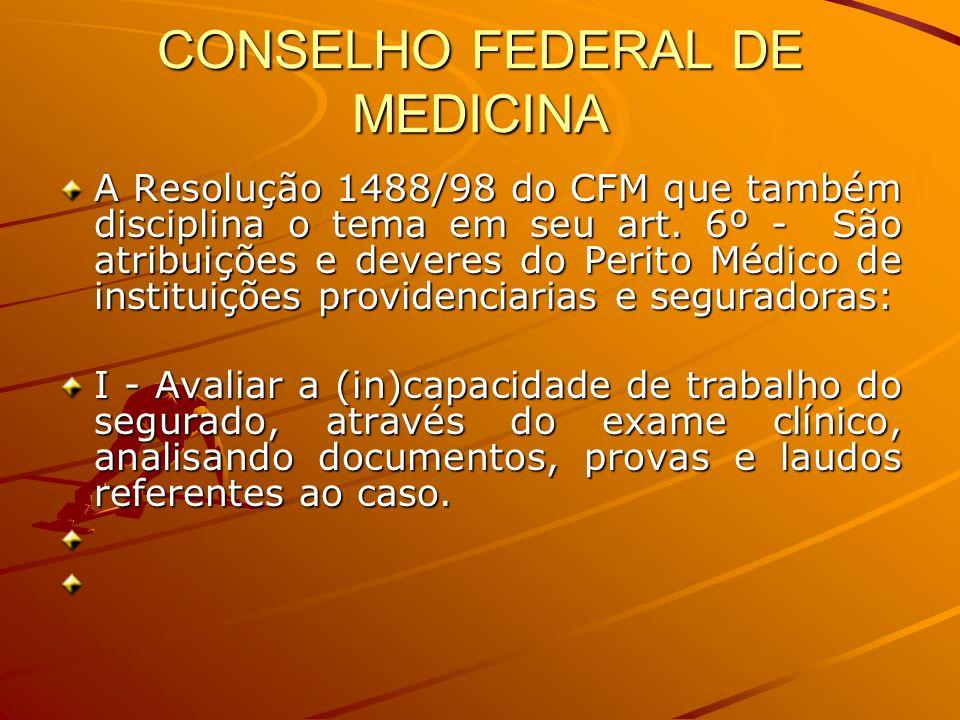CONSELHO FEDERAL DE MEDICINA