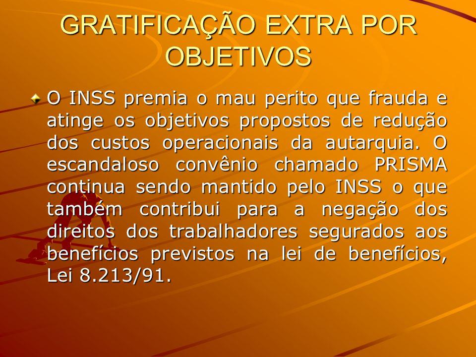 GRATIFICAÇÃO EXTRA POR OBJETIVOS