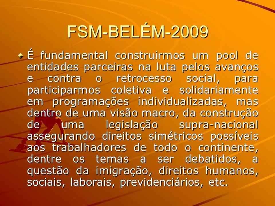 FSM-BELÉM-2009