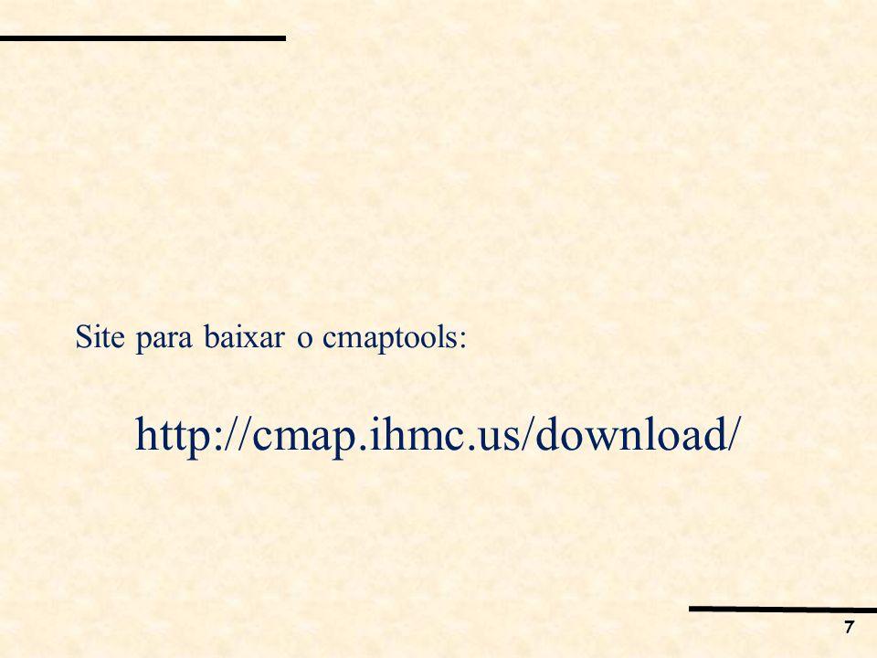 Site para baixar o cmaptools: