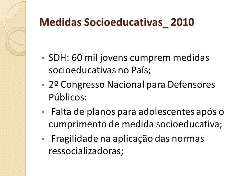 Medidas Socioeducativas_ 2010