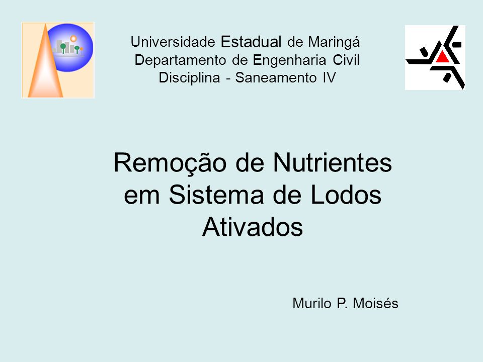 Remoção de Nutrientes em Sistema de Lodos Ativados