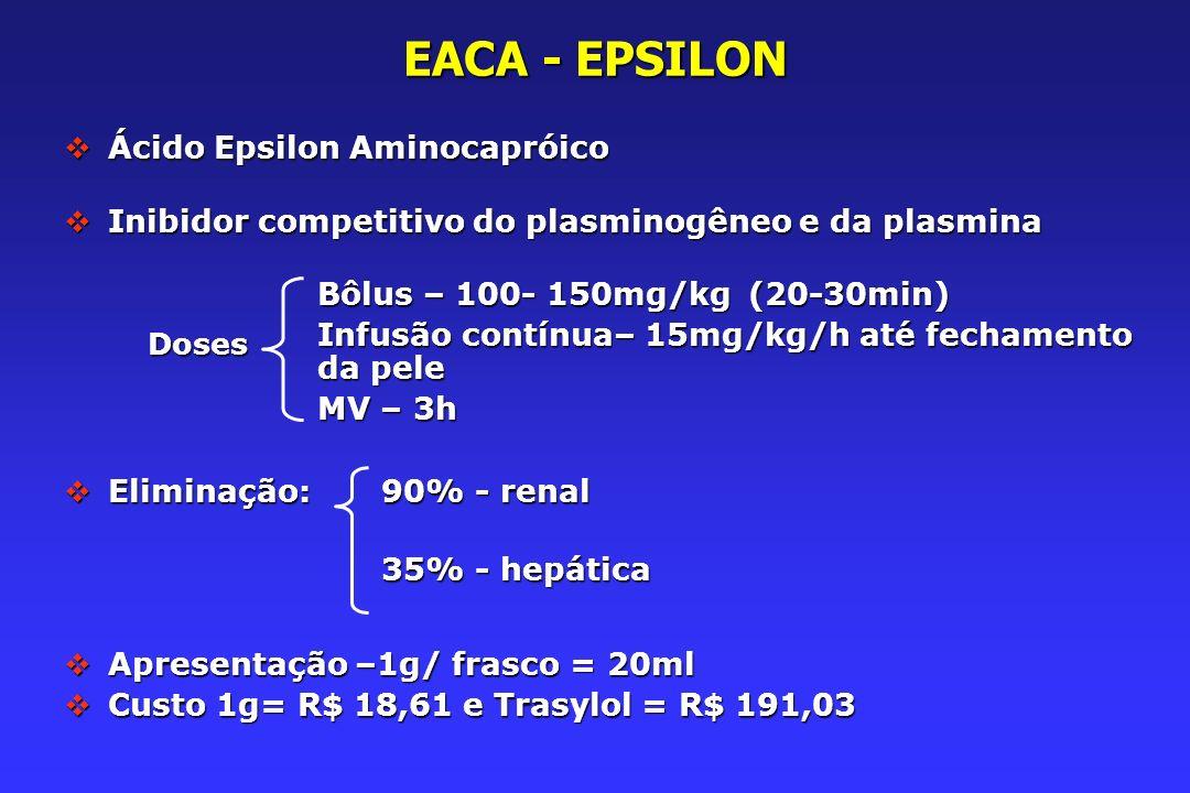 EACA - EPSILON Ácido Epsilon Aminocapróico