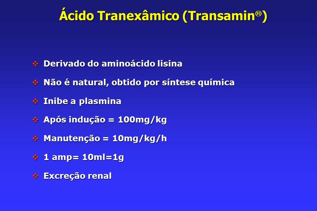 Ácido Tranexâmico (Transamin)