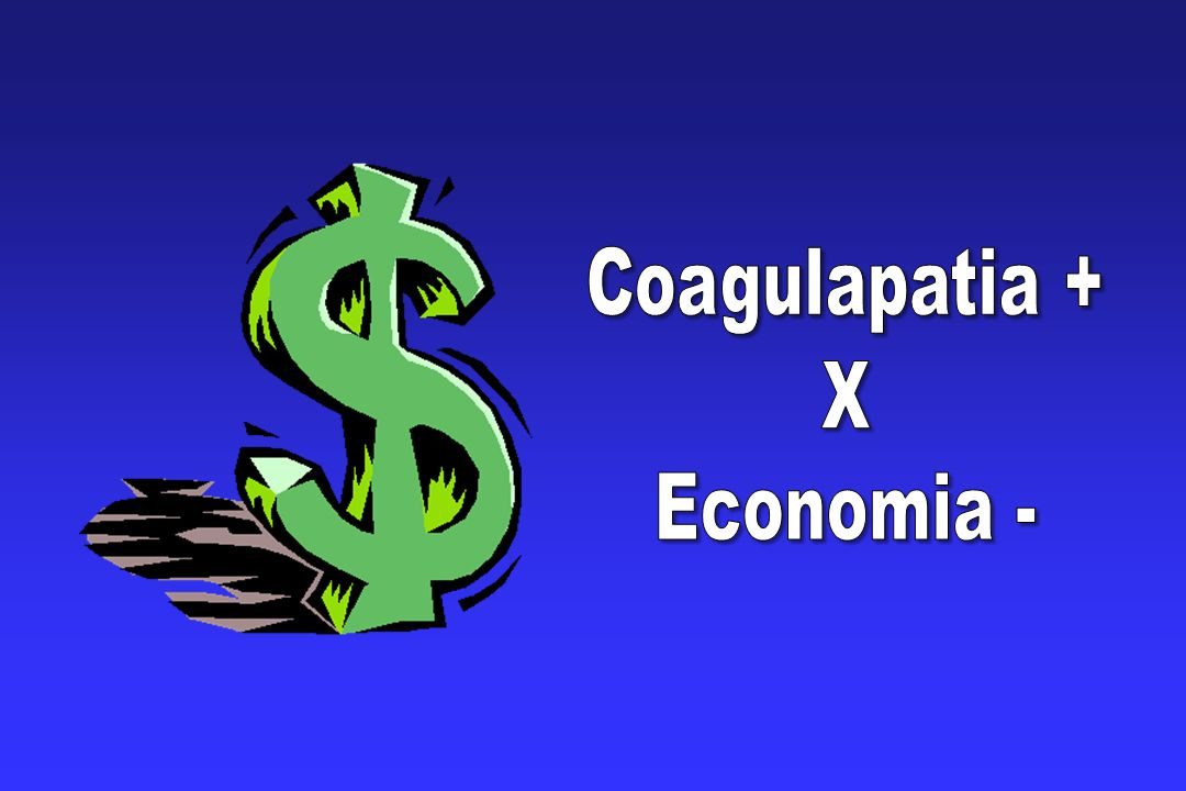 Coagulapatia + X Economia -