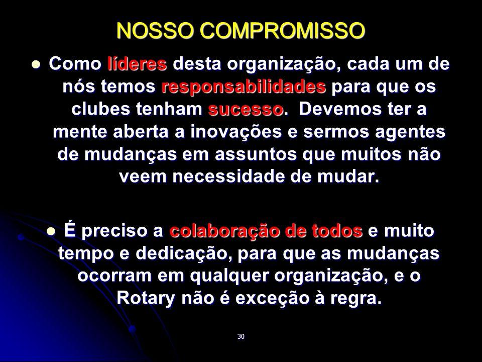 NOSSO COMPROMISSO