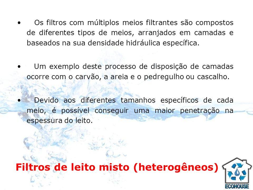 Filtros de leito misto (heterogêneos)