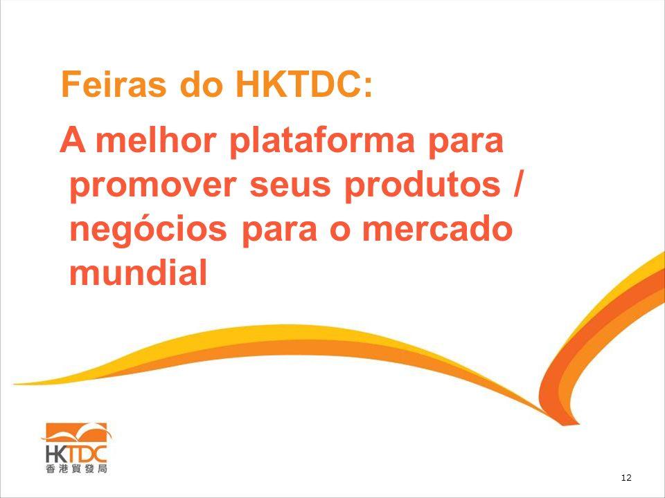 Feiras do HKTDC: A melhor plataforma para promover seus produtos / negócios para o mercado mundial