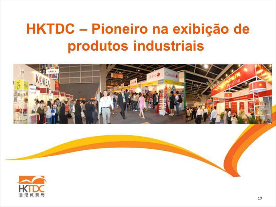 HKTDC – Pioneiro na exibição de produtos industriais