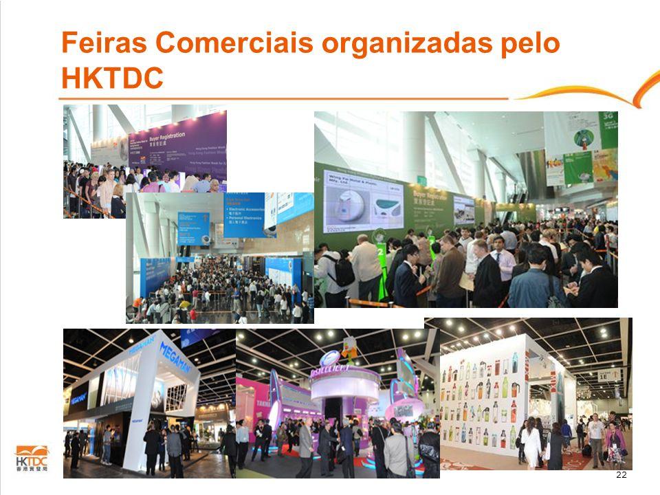 Feiras Comerciais organizadas pelo HKTDC