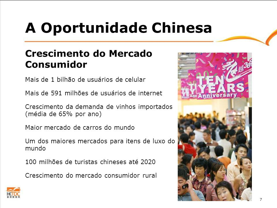 A Oportunidade Chinesa