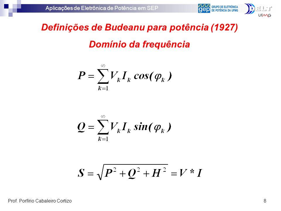 Definições de Budeanu para potência (1927)