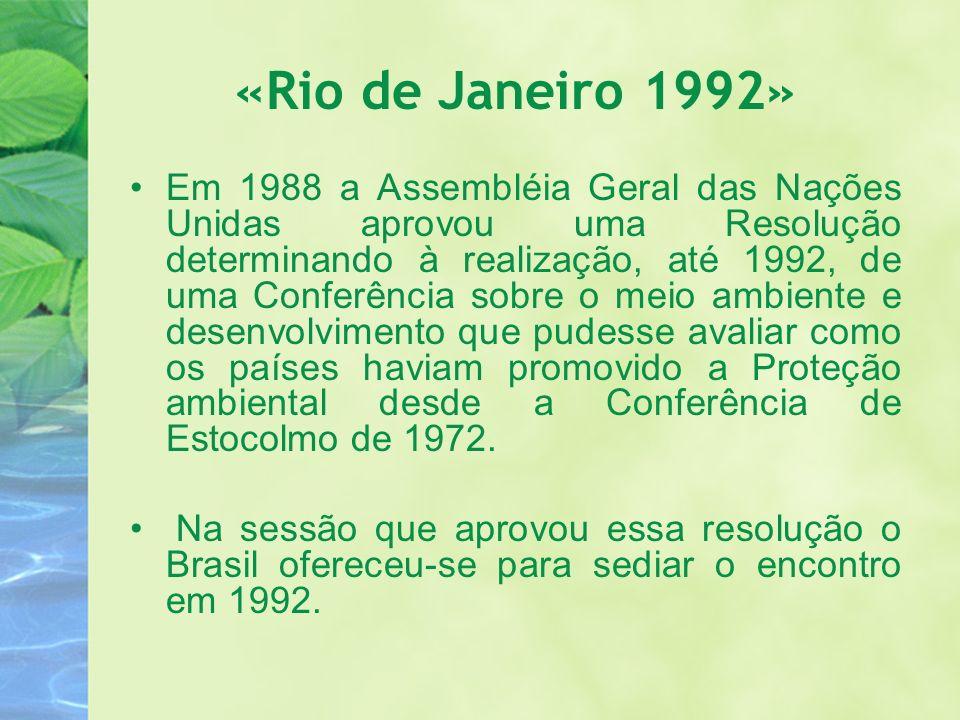 «Rio de Janeiro 1992»