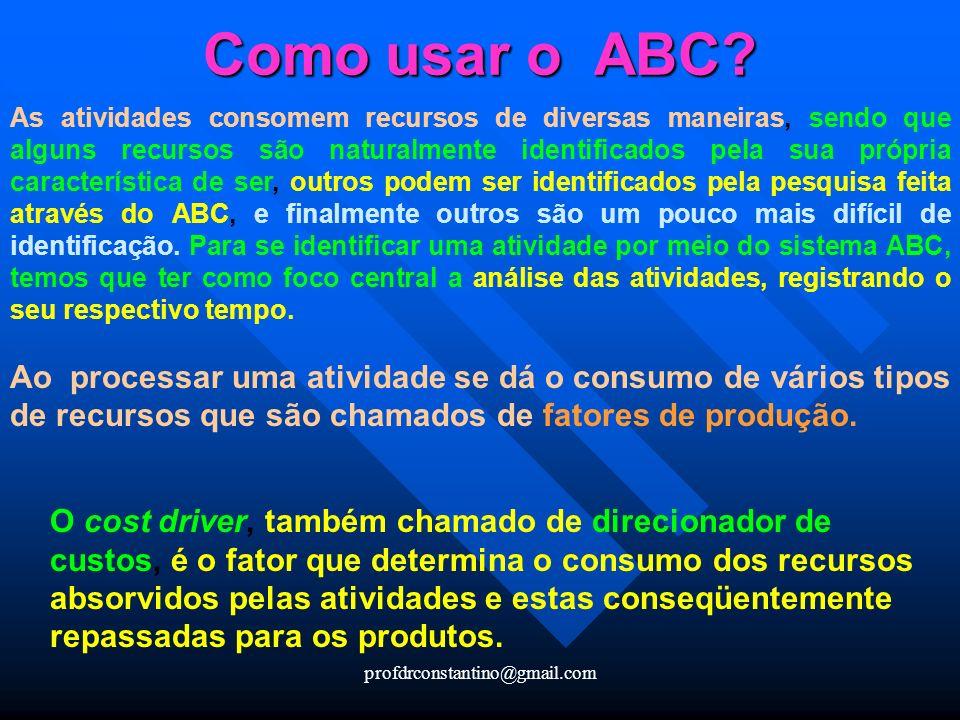 Como usar o ABC