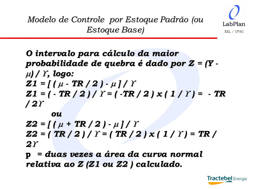 Modelo de Controle por Estoque Padrão (ou Estoque Base)