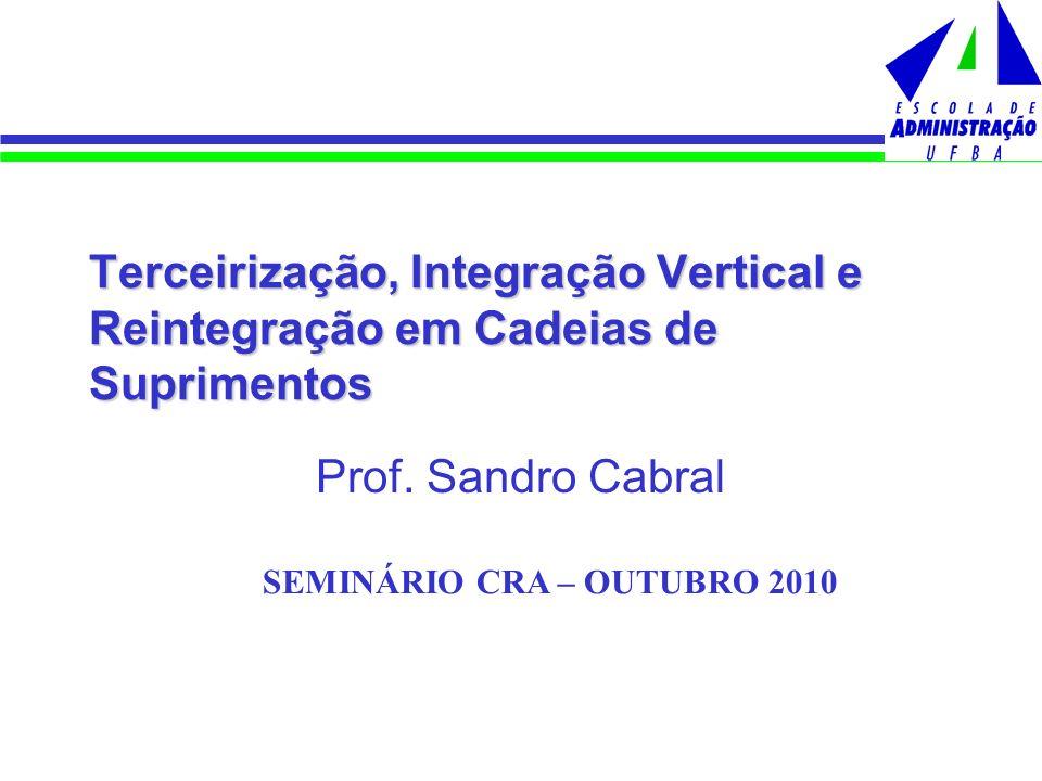 SEMINÁRIO CRA – OUTUBRO 2010