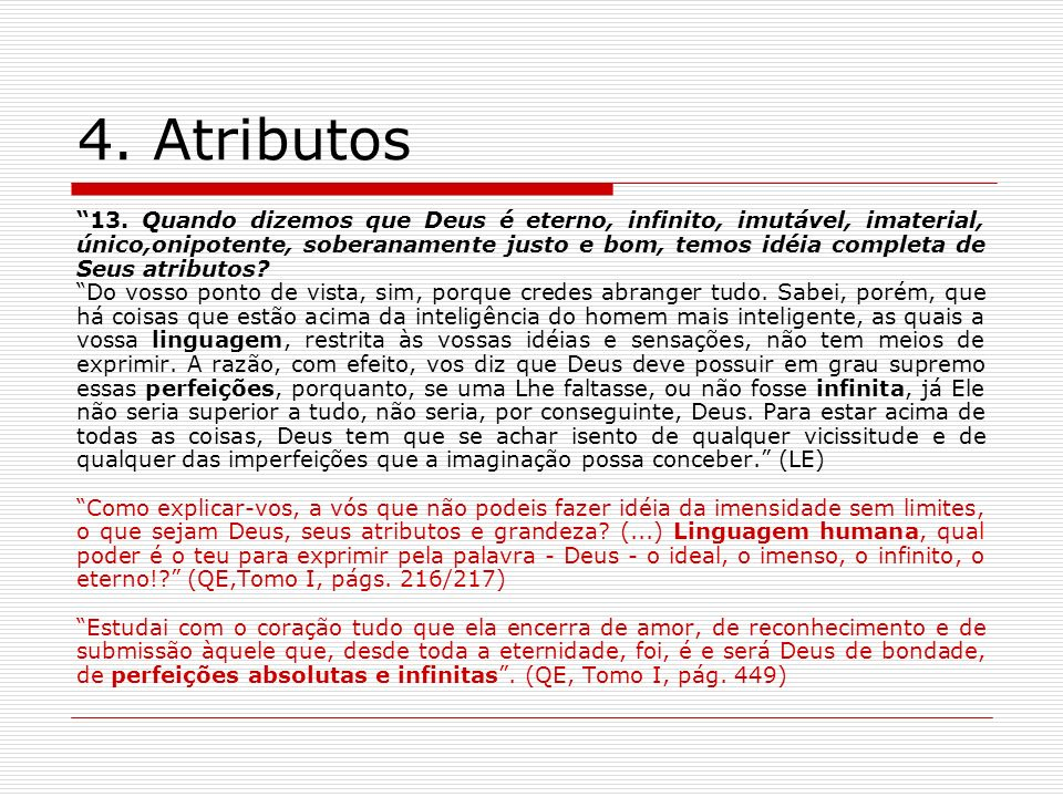 4. Atributos