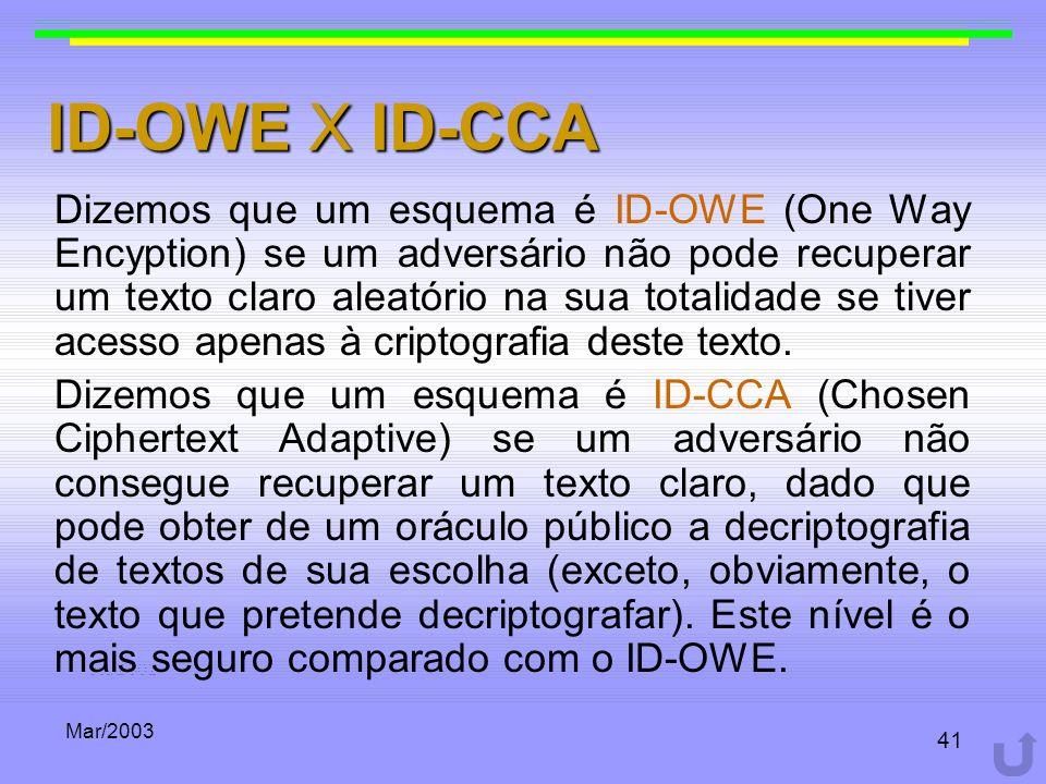 ID-OWE X ID-CCA