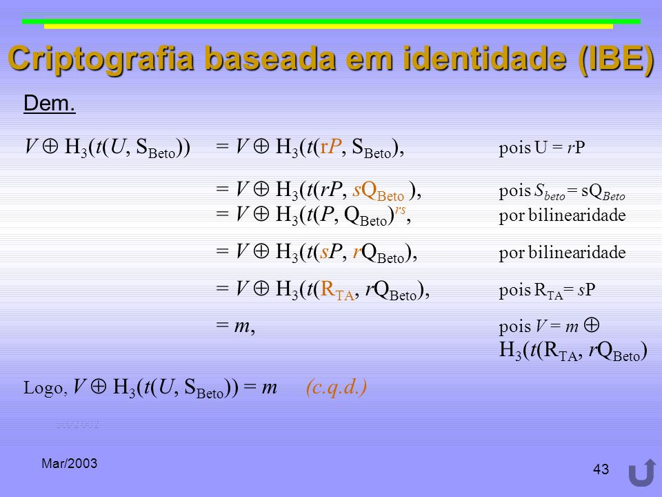 Criptografia baseada em identidade (IBE)