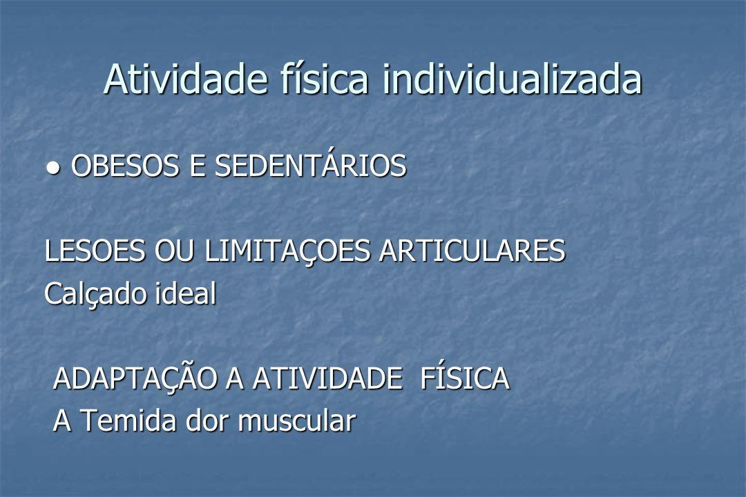 Atividade física individualizada