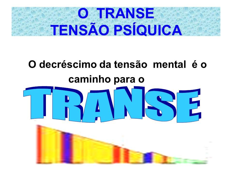 O TRANSE TENSÃO PSÍQUICA