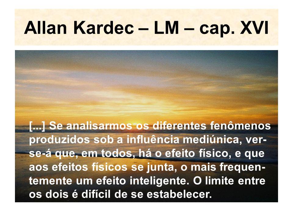 Allan Kardec – LM – cap. XVI