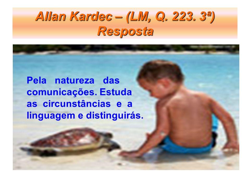 Allan Kardec – (LM, Q. 223. 3ª) Resposta