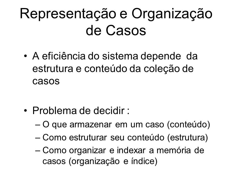 Representação e Organização de Casos