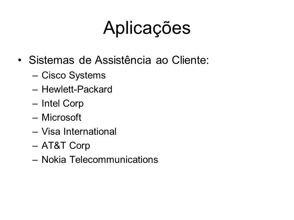 Aplicações Sistemas de Assistência ao Cliente: Cisco Systems