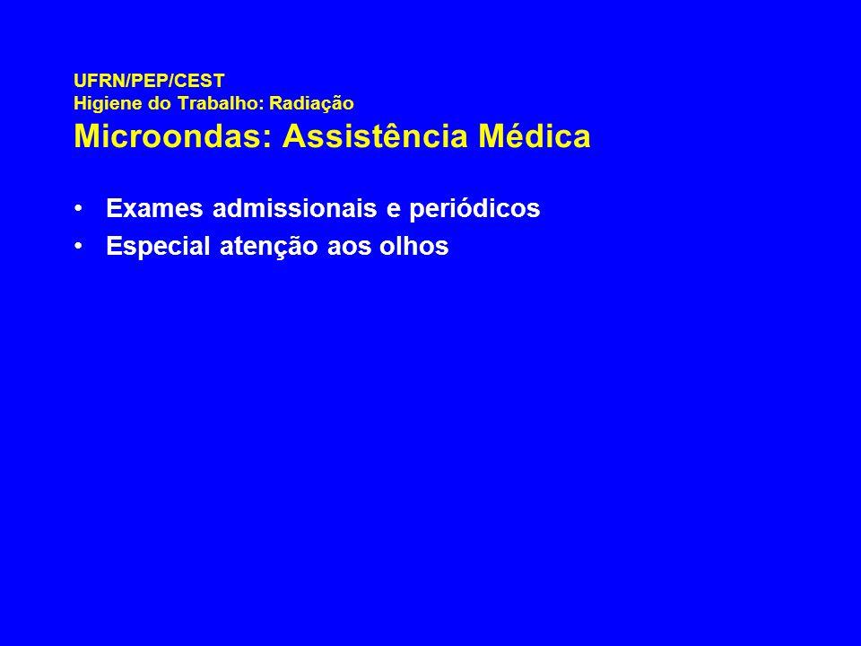 Exames admissionais e periódicos Especial atenção aos olhos