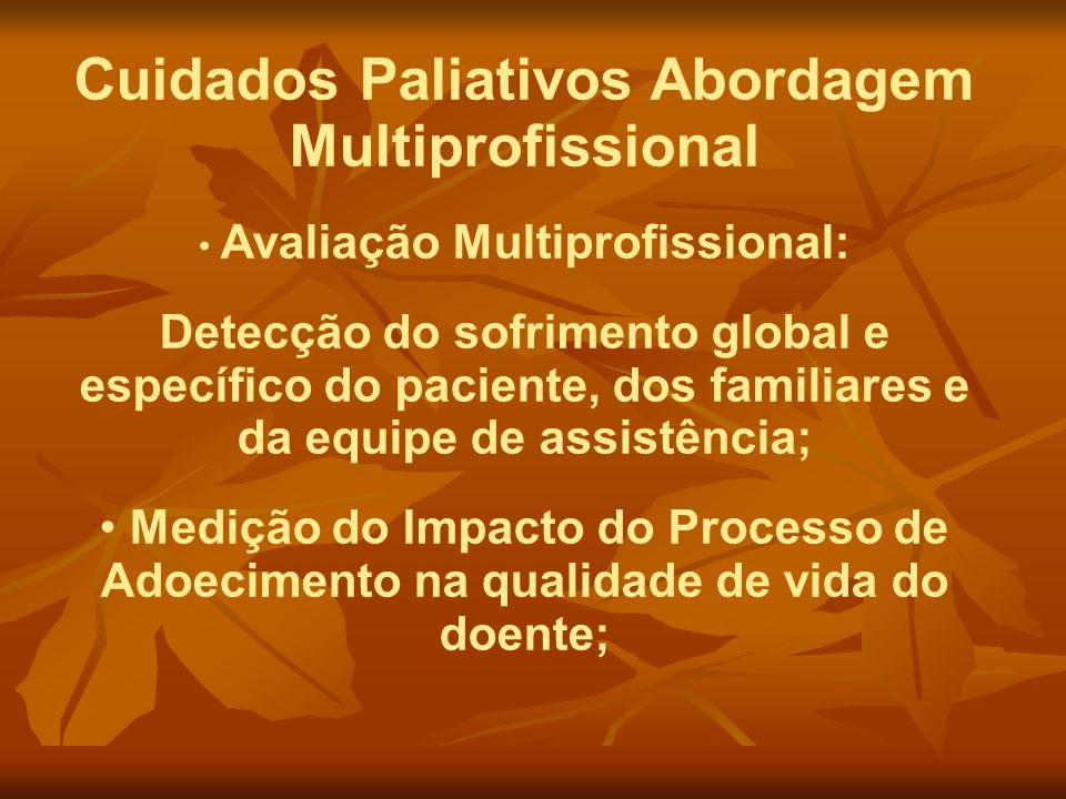 Cuidados Paliativos Abordagem Multiprofissional